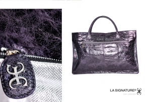 25 LA SIGNATURE - HAND BAGS - THE CAGE ZOOM