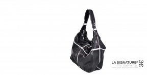 21 LA SIGNATURE - HAND BAGS - THE DRAUGHTS BLACK & WHITE